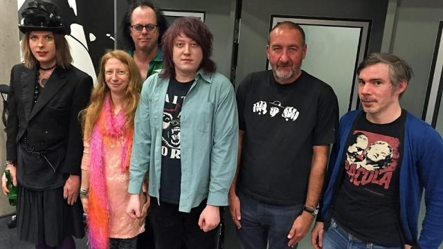Faerground Accidents with BBC Radio 6 Music DJ Marc Reilly (second from right) - bbc.co.uk