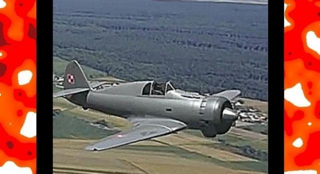 PZL P.50 Jastrząb – nowoczesny polski myśliwiec, dorównujący radzieckim MiG-3 (Youtube screenshot)