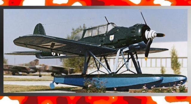Arado Ar 196 - morski samolot wielozadaniowy produkcji Trzeciej Rzeszy (fot. CCB-Y3-0, Gonzosft)
