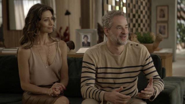 Joyce e Eugênio são os pais de Ivana em ¨A Força do Querer¨