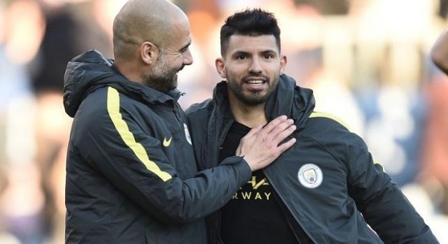 Pep Guardiola y Sergio