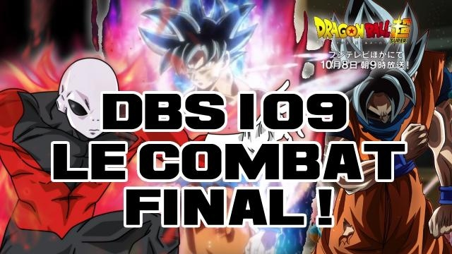 DBS 109 : Le combat final ! Jiren vs Gokû Limit Break !