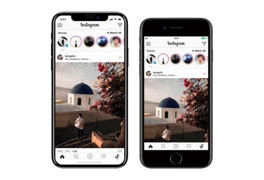 Do lado esquerdo o iPhone 8 e do lado direito o 7S.