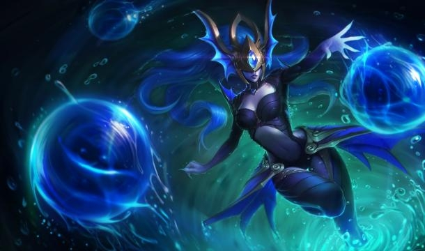 Syndra, campeón de League of Legends