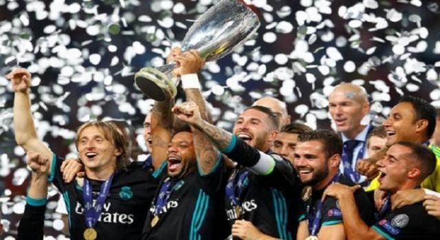 Real Madrid ganador de la Supercopa de Europa 2017