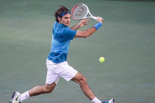Roger Federer of Switzerland (Wikimedia Commons - wikimedia.org)