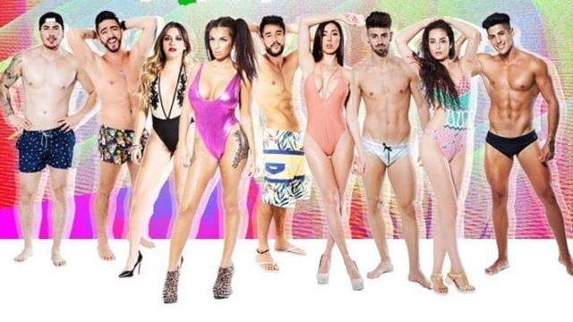 Participantes de MTV Super Shore a la italiana.