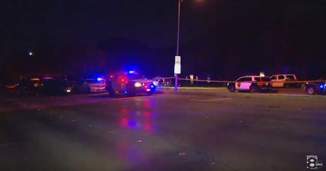 8 people are dead including the shooter and two wounded after shooting at Dallas Cowboys party [Image: YouTube/WFAA Media]