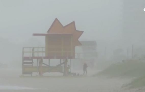 Hurricane Irma hits Miami beach after battering Cuba AFP news agency | YouTube