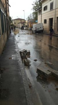 Terribile maltempo a Livorno..