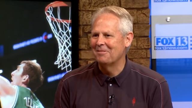 Danny Ainge on 3 Questions with Bob Evans | Fox 13 Now | YouTube