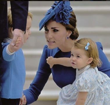 Kate anunciou a gravidez do terceiro filho recentemente