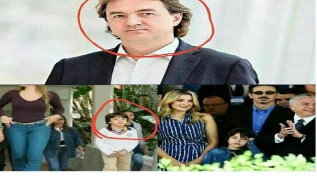 A internet está sendo invadida com o boato de que Joesley Batista é pai de Michelzinho