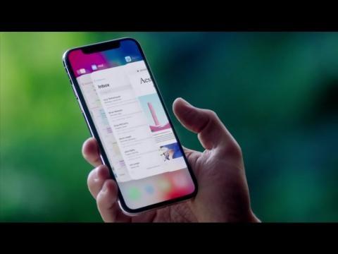 Apple anuncia o iPhone X com tela infinita