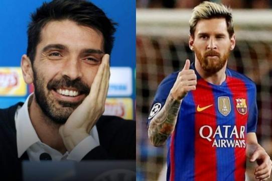 Buffon: ''Yo nunca he encajado un gol de Messi''. - diez.hn