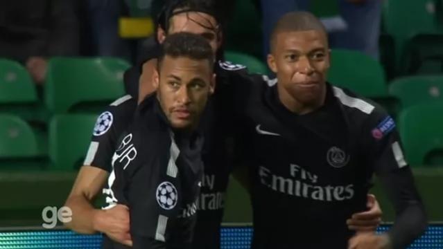 Trio de ataque do PSG voltou a mostrar sua força