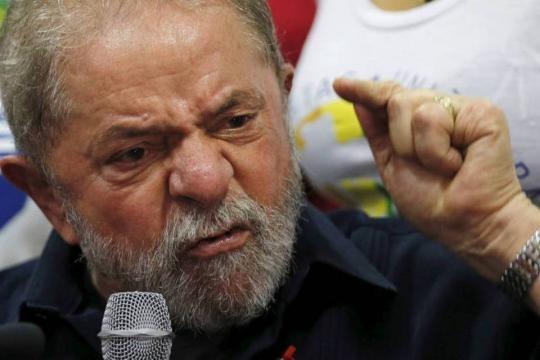 Lula em depoimento a Sérgio Moro