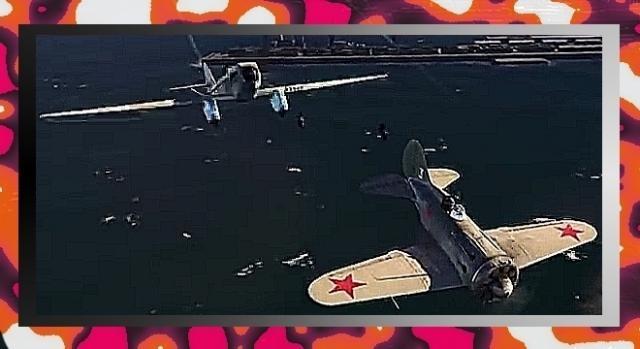 Myśliwiec bombardujący I-16-29 nie mógł się równać z Bf 109 (YouTube screenshot)