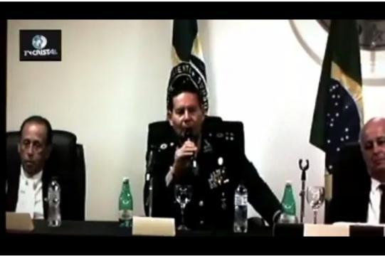General Antonio Hamilton Martins Mourão sugere intervenção militar para solucionar crise política (Foto internet)