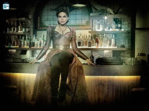 Lana Parrila as The Evil Queen/Roni (via eonline.com)