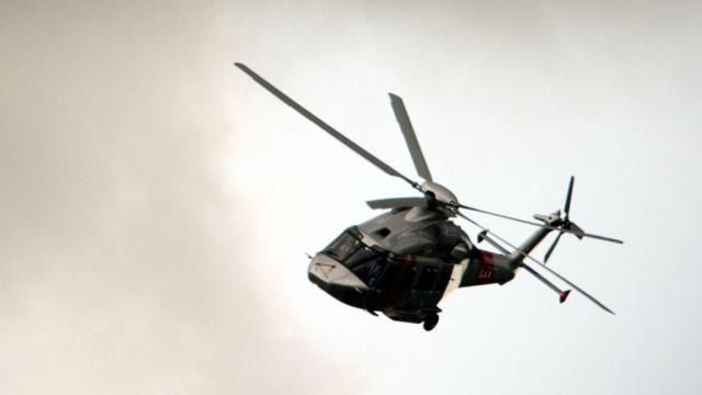 Belgian military pilot falls from helicopter during airshow|BBC - utells.com