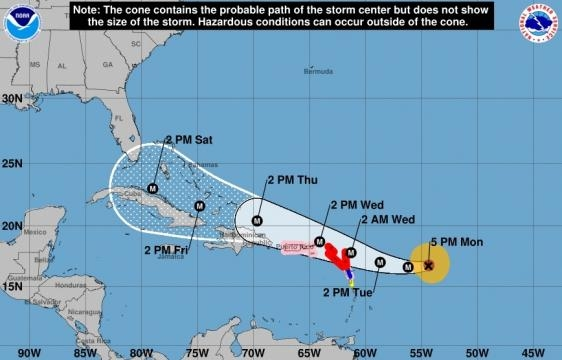 Hurricane Irma strengthens to a Category 4 | Where Orlando Turns ... - news965.com