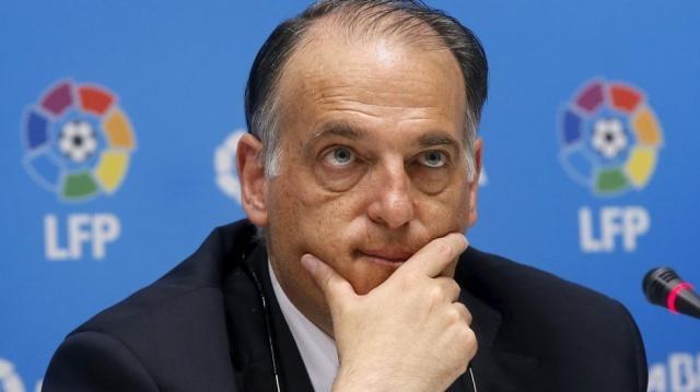 La Liga president Javier Tebas doesn't want extra sanction for ... - tribuna.com