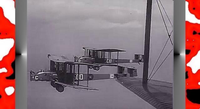 Na takich nocnych bombowcach RAF latał do 1938 (screenshot z YouTube)
