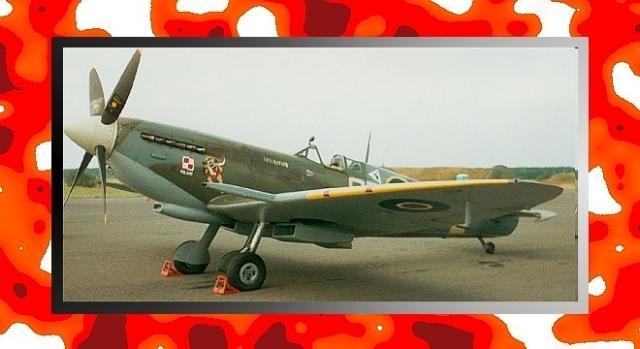 Spitfire z polskiego dywizjonu RAF 316 (fot. Grzegorz Polak)