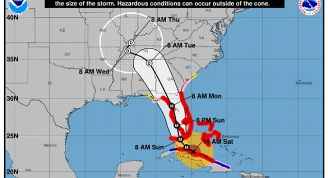 Hurricane Irma path credits:National Hurricane Center http://www.nhc.noaa.gov/refresh/graphics_at1+shtml/145752.shtml?cone#contents