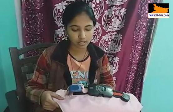 A jovem indiana colocou vários dispositivos de segurança na sua invenção