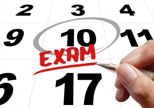 Exams are coming   Photo from: Pixabay CC0