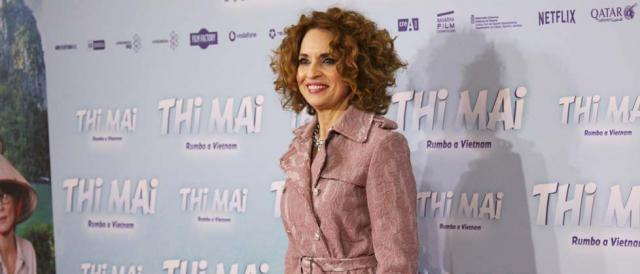 Adriana-Ozores-en-el estreno de la película Thi Mai
