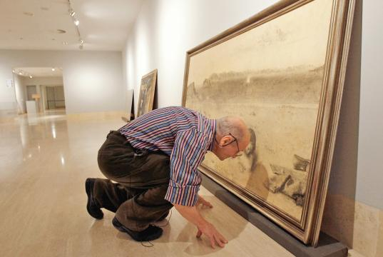 Antonio López, pintor | Edición impresa | EL PAÍS - elpais.com