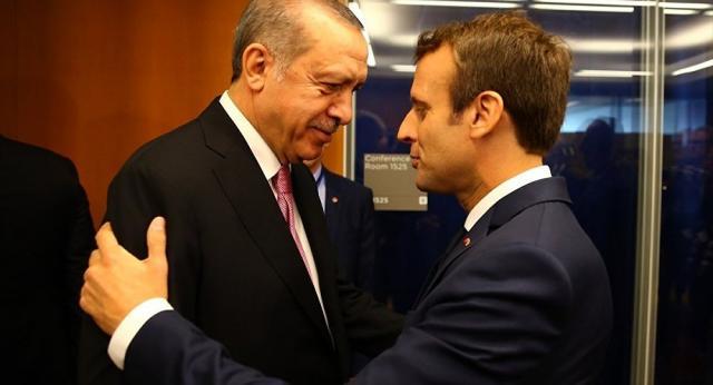 Erdoğan'ın yeni yılda ilk ziyareti Macron'a - Sputnik Türkiye - sputniknews.com