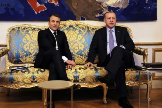 Rencontre entre Macron et Erdogan
