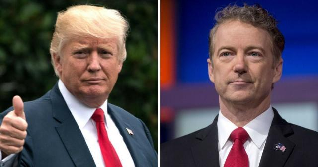 Rand Paul and Trump-taking Pak to task - trendolizer.com