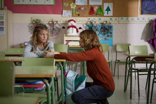 La joven Martina de 9 años da vida al personaje principal del cortometraje