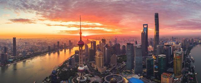 Shanghai, cel mai mare oraș din China și cel mai populat oraș propriu-zis (fără suburbii)din lume