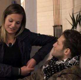 Esterna di Tommaso e Francesca non trasmessa in tv