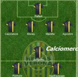 Verona Lazio, 4 a 0, 17° giornata serie A