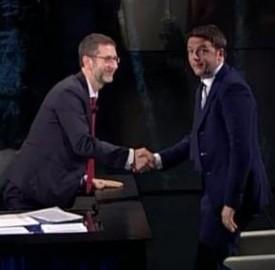 Matteo Renzi e Fabio Fazio