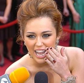 Miley Cyrus, la cantante americana