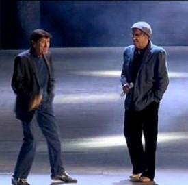 Gianni Morandi e Adriano Celentano