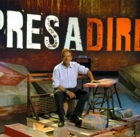 Rai 3: 'Presadiretta', conduce Riccardo Iacona