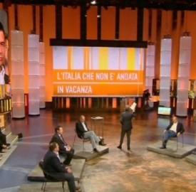 Rete 4: 'Quinta Colonna', conduce Paolo Del Debbio