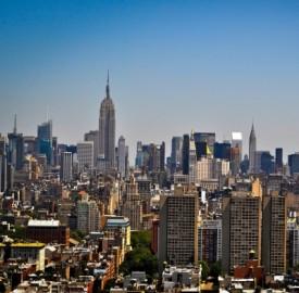 New York City in una bella giornata