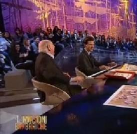 Mika e Dario Fo cantano insieme