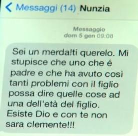 SMS De Girolamo a Mastella
