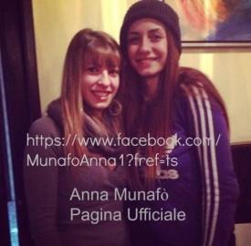 Anna Munafò e la fan di Milazzo